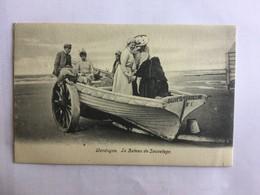WENDUINE  WENDUYNE  LE BATEAU DE SAUVETAGE    PRACHTIGE KAART / CPA SPLENDIDE  1904 - Wenduine