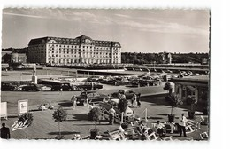 14 Deauville Hotel Le Royal Vu Du Bar Du Soleil Vieille Voiture Auto CPSM PF Edit Estel N°11053 Photo - Deauville