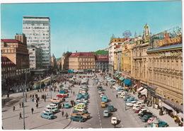 Zagreb: FORD 15M P1, ANGLIA, CHEVROLET IMPALA, OPEL OLYMPIA REKORD, MG ROADSTER, PONTIAC CATALINA '59, DKW JUNIOR, TRAM - Toerisme