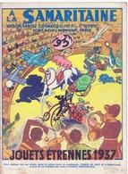 """Catalogue """"la Samaritaine"""" 1937, Jouets étrennes - Advertising"""