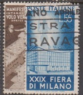 Italy Republic S 657-658 1951 29th Milan Trade Fair,used - 6. 1946-.. Republic