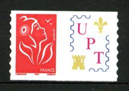 """Personnalisé - 3802 Aa - TVP 20gr- Adhésif - Logo """"UPT"""" (Union Phil. De Tours) - Petite Vignette - Neuf N** - Très Beau - Personnalisés"""
