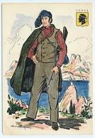 CPSM 10.5 X 15 Costume Folklorique CORSE Homme Illustrateur Margotton - Illustrators & Photographers