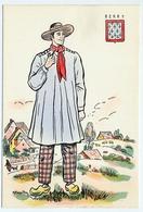 CPSM 10.5 X 15 Costume Folklorique BOURBONNAIS HOmme Illustrateur Margotton - Andere Illustrators