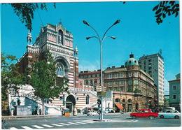 Rijeka: ZASTAVA FIAT 1300 & 600 -  Capuchin Church Of Our Lady Of Lourdes - (YU.) - Toerisme