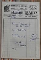 55 GREMILLY  Commerce De Bestiaux Maurice FRANTZ - France