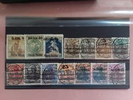 POLONIA DEL NORD - Varsavia 1918 - Lotticino Nuovi * E Timbrati (1 Valore Manca Angolo) + Spese Postali - Usati