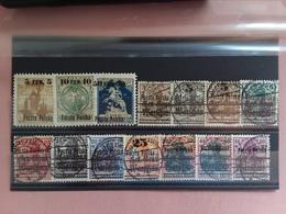 POLONIA DEL NORD - Varsavia 1918 - Lotticino Nuovi * E Timbrati (1 Valore Manca Angolo) + Spese Postali - Oblitérés