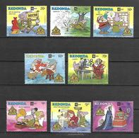 Disney Set Redonda 1987 CAPEX - Snow White And The Seven Dwarfs MNH - Disney