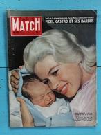PARIS MATCH / N° 509 Du 10 Janvier 1959 / JAYNE MANSFIELD / FIDEL CASTRO / MOSCOU : DEPART POUR LA LUNE / PICASSO - Informations Générales