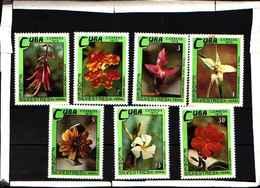 5905BIS ) CUBA 1973 FIORI-FLORES SILVESTRES-SERIE-MNH** - Nuovi