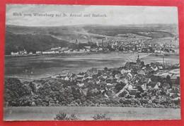 Cpa WINTERBERG Auf St. Arnual Und Brebach Usines Cheminees Adresse Gendarme - Saarbruecken
