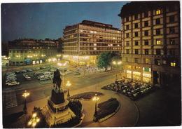 Beograd: Ca. 50 AUTO'S / CARS On Republic Square By Night - Trg Republike - (YU.) - Toerisme