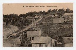 - CPA FORT-DAUPHIN (Madagascar) - Vue De L'Ouest 1918 - Edition Annequin - - Madagascar