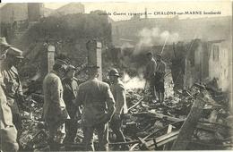 Chalons Sur Marne Bombarde - Militari