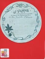 OLORON PYRENÉES ATLANTIQUE Pharmacien POMME RUE GAMBETTA   ETIQUETTE ANCIENNE  Pharmacie CIRCA 1900 - Andere