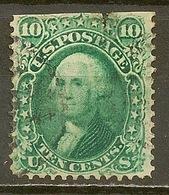 ETATS UNIS D'AMERIQUE - N° 22 - - Cote 50 € - Aminci - Voir Recto - George Washington
