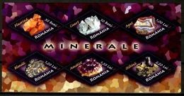 Romania 2006 Rumania / Minerals Geology MNH Minerales Mineralien / Cu13338  40-34 - Mineralien