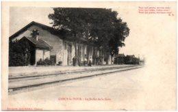 58 CERCY-la-TOUR - Le Buffet De La Gare - Other Municipalities