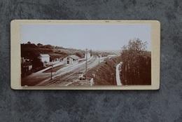Saint Benoit 86280 La Gare Photo Prise Du Viaduc 026CP02 - Lieux