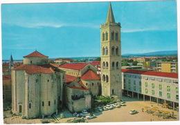 Zadar: TRIUMPH HERALD CONVERTIBLE, VW 1200 KÄFER/COX, SKODA 1000MB, ZASTAVA 600 - Church Of St. Donatus - (YU.) - Toerisme