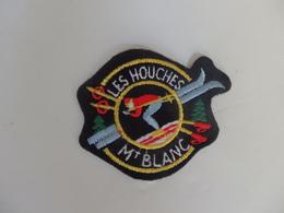 Ecusson Tissu Les Houches Mont-Blanc. - Blazoenen (textiel)