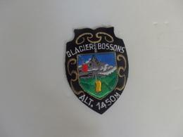 Ecusson Tissu Glacier Des Bossons (74). - Ecussons Tissu