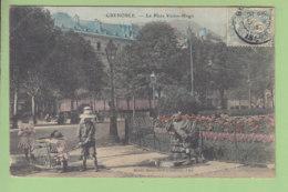 Grenoble : La Place Victor Hugo. 2 Scans. Edition Morel - Grenoble