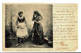 CPA - Carte Postale-Belgique -Fantaisie-2 Jeunes Femmes : La Cigale Et La Fourmi-1899 -VM4667 - Femmes