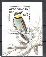 Azerbeidzjan 1986 Mi Nr Blok 23, Vogel , Bird, Bijeneter, Bee-eater - Azerbeidzjan