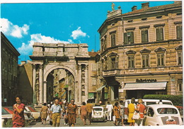 Pula: ZASTAVA 600, VW T1B BUS -  Sergius Gate, Golden Arch - (YU.) - Toerisme