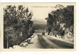 Carte Postale Ancienne La Bédoule - Route De La Ciotat - Andere Gemeenten