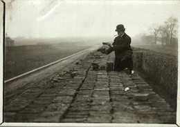 LOT 3 FOTOS /// POTTERY  MAKING  BRICKS NORBAY BRICKS  +- 16*12CMFonds Victor FORBIN (1864-1947) - Profesiones