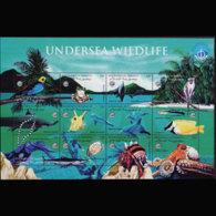 DJIBOUTI 1998 - Scott# 777 Sheet-Ocean Year MNH - Gibuti (1977-...)