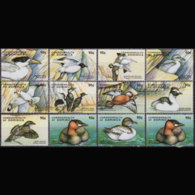 DOMINICA 1998 - Scott# 2068a-l Sheet-Sea Birds Set Of 12 MNH - Dominica (1978-...)
