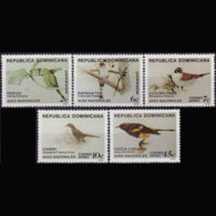 DOMINICA REP. 1979 - Scott# 820-1+C301-3 Birds Set Of 5 MNH - Dominican Republic