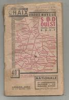 Chemin De Fer ,S.N.C.F. Horaires MAYEUX, Sud-Ouest ,  Service D'été , 60 Pages , 1948 , 3 Scans ,  Frais Fr 3.15 E - Vieux Papiers