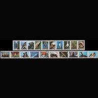 ECUADOR 1999 - Scott# 1491-2 Fauna Set Of 20 MNH - Ecuador
