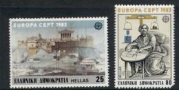Greece 1983 Europa (80d Short Corner) MUH - Greece