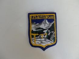 Ecusson Les Bossons (74). - Blazoenen (textiel)