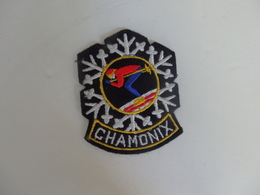Ecusson Chamonix (74). - Blazoenen (textiel)