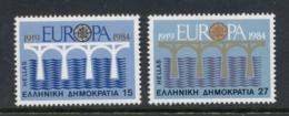 Greece 1984 Europa Bridges MUH - Griekenland