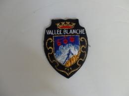Ecusson Vallée Blanche (74). - Blazoenen (textiel)
