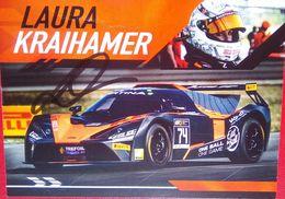 Laura Kraihamer - Handtekening