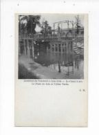 Bruxelles-Accident Du 4 Juin 1909- Le Canal à Sec-Le Pont En Bois à L'Allée Verte - Brussels (City)