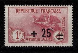 YV 168 N* (tres Legere) 2eme Orphelins Parfaitement Centré Cote 36+ Euros - Nuevos