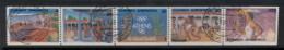 Greece 1988 Olympics Booklet Pane CTO - Unused Stamps