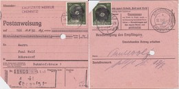 SBZ Bundesland Sachsen Mi AP 794 I (2) MeF PA Chemnitz 1945 R - Storia Postale