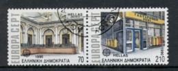 Greece 1990 Europa CTO - Ongebruikt