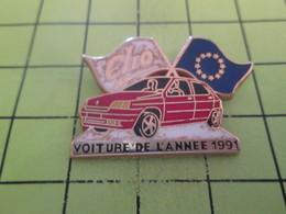 1015a Pins Pin's / Rare & Belle Qualité THEME ARTHUS BERTRAND / CLIO RENAULT VOITURE DE L'ANNEE 1991 - Arthus Bertrand